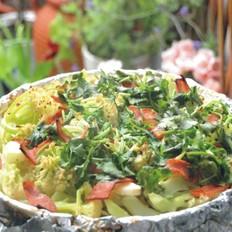 香烤培根花菜