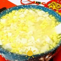 蛋黄豆腐羹