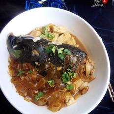 鱼头炖豆腐宽粉