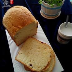 一键式葡萄干欧式面包