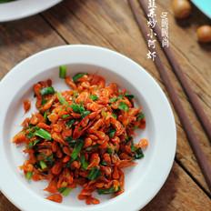 韭菜炒小虾米