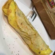 亚麻籽软式全麦蛋饼