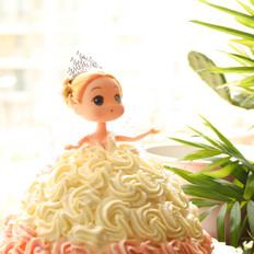 芭比蛋糕#下午茶#