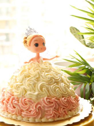 芭比蛋糕#下午茶#的做法