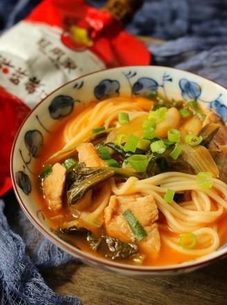 茄汁汤面的做法