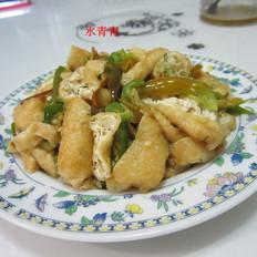 辣炒油豆腐