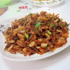 萝卜干炒虾米