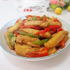 鱼香油豆腐