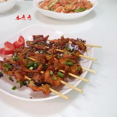 炸麻辣串串牛肉