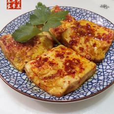胡椒味豆腐片--空气炸锅版