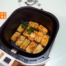 牛肉味豆腐片--空气炸锅版