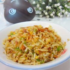 蛋黄虾米炒饭
