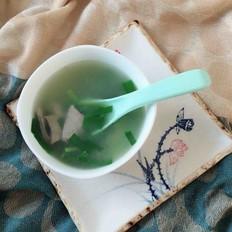 猪肝韭菜汤