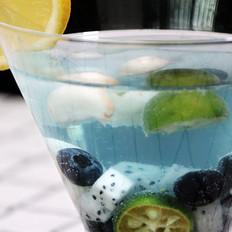 山竹蓝莓潘趣酒