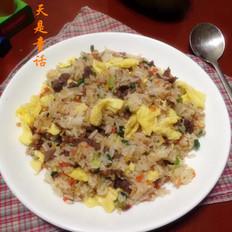 牛肉蛋炒饭