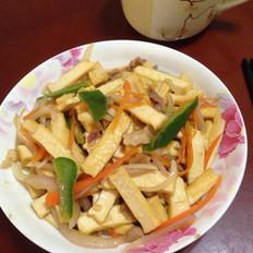 小炒豆腐干