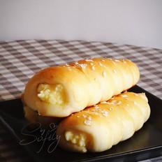 奶酪号角面包
