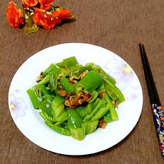辣椒炒淡菜