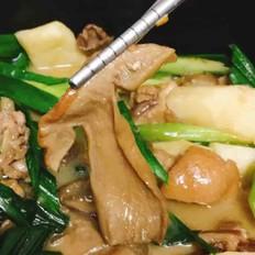 砂锅牛肝菌焖土鸡