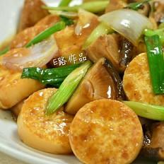 香菇鸡蛋豆腐