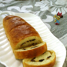 桂圆酒香面包