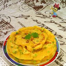 葱香南瓜鸡蛋软饼