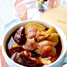 姜枣山楂苹果汤