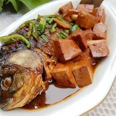 红烧鲫鱼豆腐