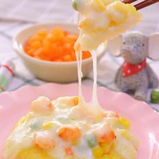 米饭迷你披萨 宝宝辅食食谱