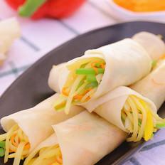 春饼(饺子皮版)宝宝辅食食谱