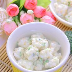 杂蔬米饭海鲜丸 宝宝辅食食谱