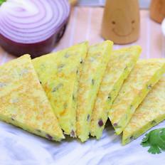 莴笋虾米饼  宝宝辅食食谱