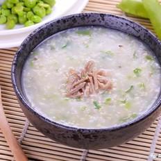 油麦菜鸡肉粥 宝宝辅食食谱