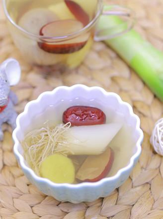 宝宝感冒食疗——红枣葱姜水 宝宝辅食食谱的做法