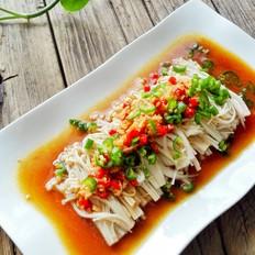 蒜蓉米椒蒸金针菇