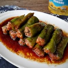 肉馅酿青椒-下饭菜