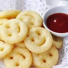 土豆傳奇笑臉土豆餅干