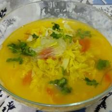 鲜香素菜汤#午餐#