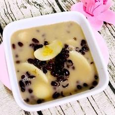 红豆牛奶年糕汤