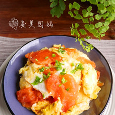 简单易做的西红柿滑蛋