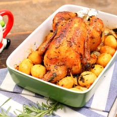 巴伐利亚烤鸡-迷迭香