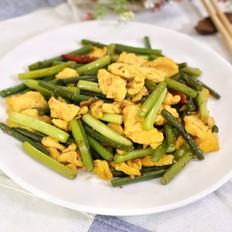 蒜苔炒鸡蛋-迷迭香