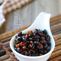 养生醋泡黑豆