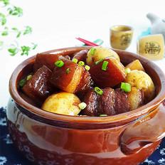 小土豆烧肉