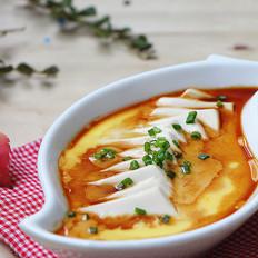 鸡蛋蒸豆腐