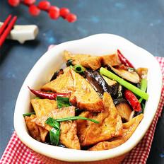 香菇烧豆腐角