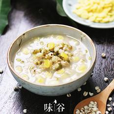 绿豆薏米燕麦粥的做法大全