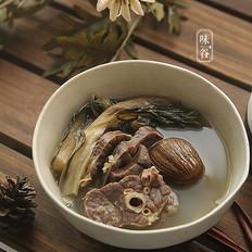 菜干猪肺汤