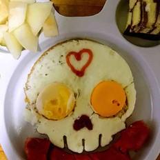 可愛的早餐