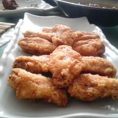 炸蒜香鸡翅
